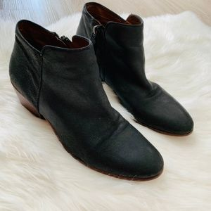 Sam Edelman Petty Ankle Booties Black Heeled 8.5